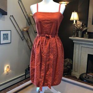 Generra Rust Terracotta Sun Dress S-M 8